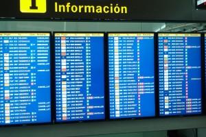 Barcelona Airport board